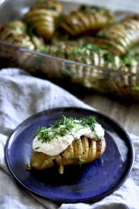 pieczone ziemniaki hasselback