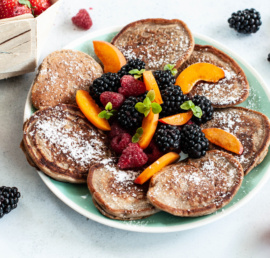 placuszki bananowe, śniadanie, pomysł na śniadanie, placuszki bezglutenowe, bezglutenowe śniadanie